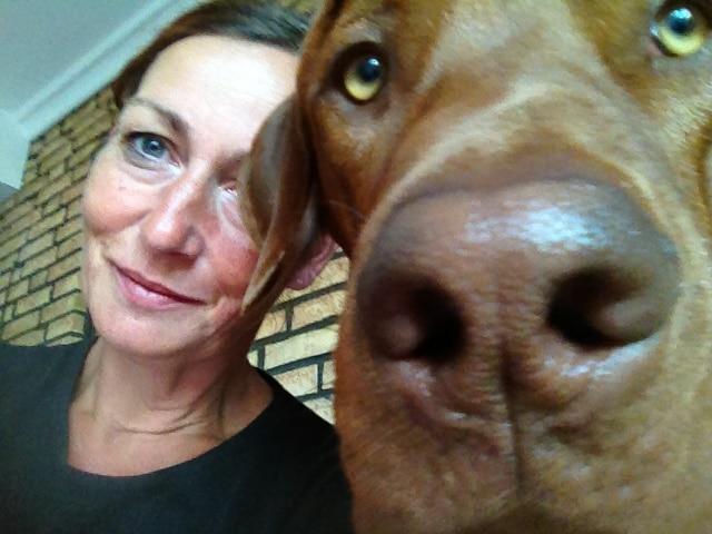 Foto mit Hund Tango