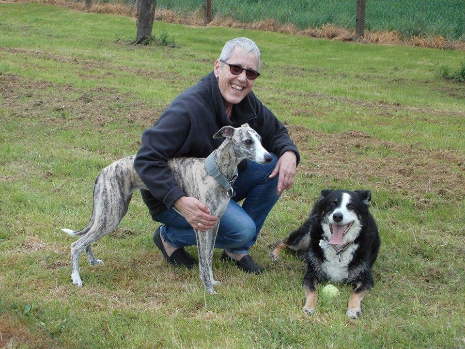 Corinna Reiter von rudelurlaub.de  mit ihren Hunden