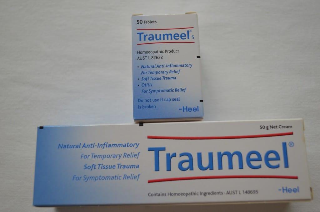 Tabletten und Salbe - Traumeel