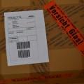 Fertig, Paket kann geschickt werden