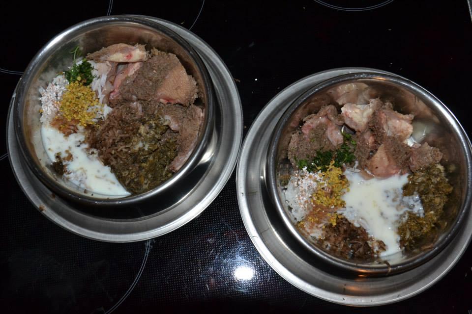 Pansen, Futter für den Hundenapf
