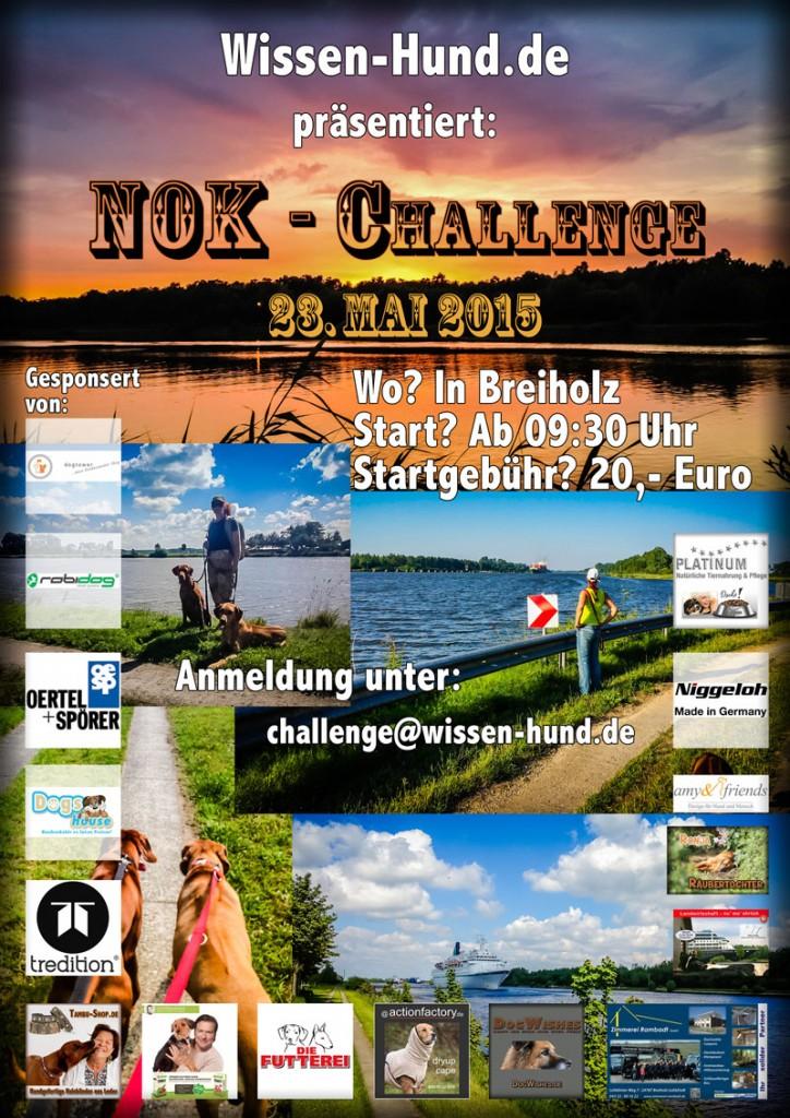 Der aktuelle Flyer zur Challenge