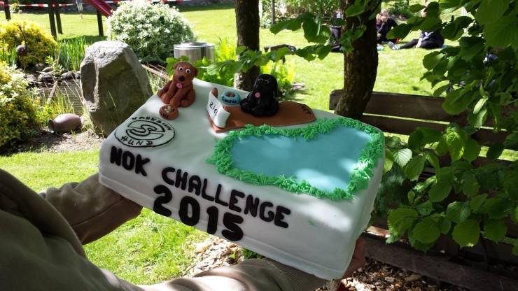 Die Challenge 2015 -  Torte!