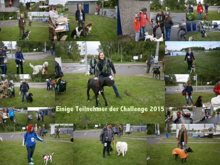 Einige der Starter an der Challenge 2015.