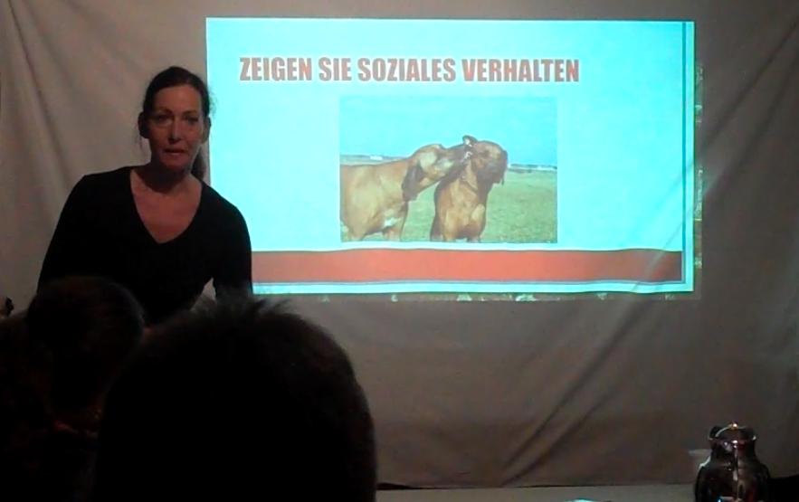 Aus dem Vortrag: Wie definiert sich gute Hundehaltung.
