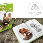 Herzen auf 4 Pfoten – Kindermalbuch
