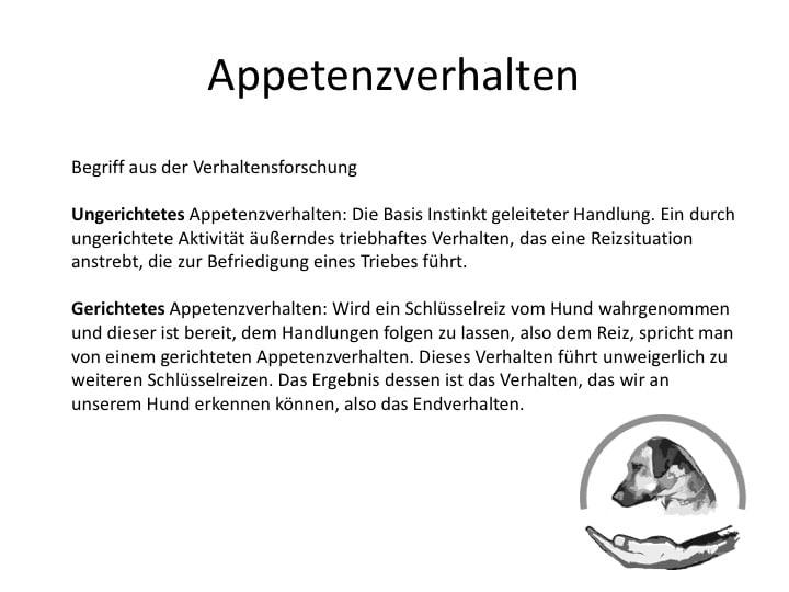 Appetenzverhalten